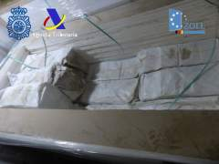 Interceptados 1.019 kilos de cocaína