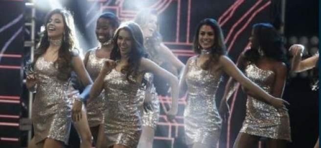 Las concursantes del certamen Miss Pedrú 2017.