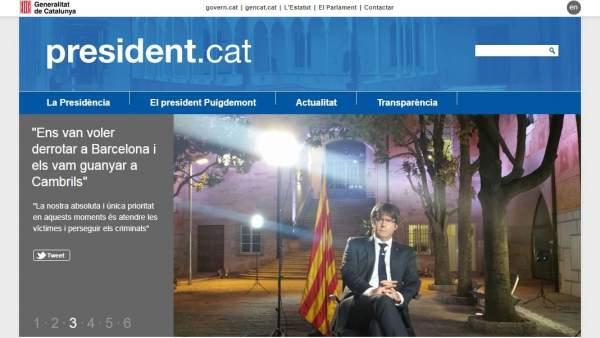 Web president.exili