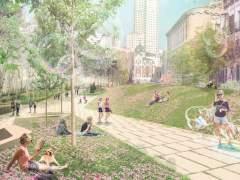 La reforma de Plaza de España arranca en primavera y tendrá el primer paso de peatones diagonal de la capital