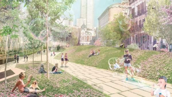Proyecto ganador para Plaza de España
