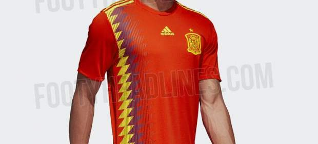 nueva camiseta seleccion española polemica