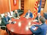 Reunión del Govern cesado.