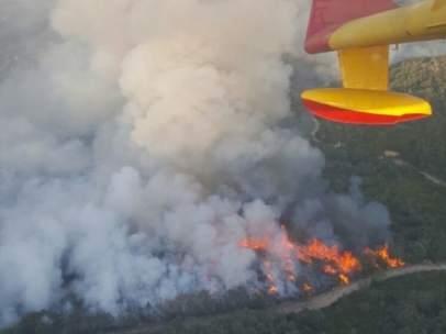 Incendio en Ourense