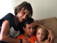 Juana Rivas con sus hijos hace unos meses