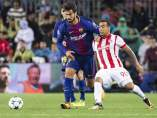 André Gomes ante Olympiacos