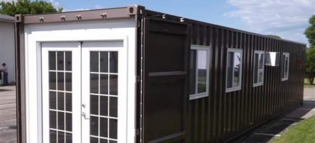 Casa prefabricada en un contenedor