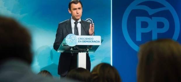 Fernando Martínez-Maíllo, coordinador general del PP.