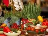 Vegetales de la dieta mediterránea