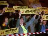 Concentración frente al parlamento catalán