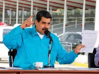 """Maduro llama """"vampiro"""" a Ledezma y pide a España que no lo devuelva"""