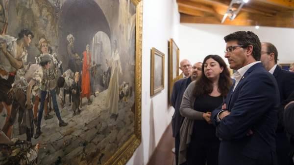 La Diputació de València exhibeix a la localitat d'Alzira el seus tresors artístics