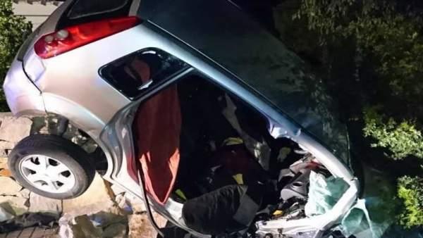 Dos morts i quatre ferits, entre ells una xiqueta de 3 anys, en un accident a Gandia (València)