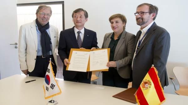 Convenio entre Parque de las Ciencias y Agencia de Seguridad Corea del Sur