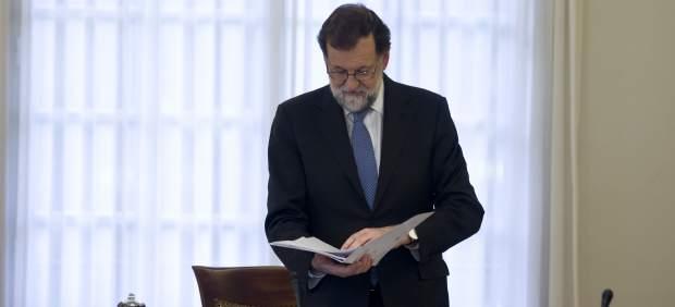 Mariano Rajoy preside el Consejo de Ministros extraordinario