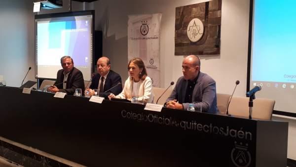 Inauguración de la jornada 'Arquitectos al servicio de la Administración'.