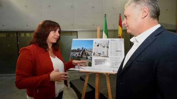 Olvido de la Rosa y José María Villegas, con el proyecto de Turismo Tropical