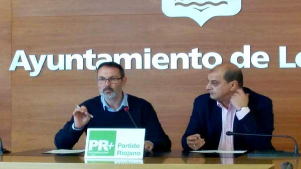 Antoñanzas y García, en la rueda de prensa