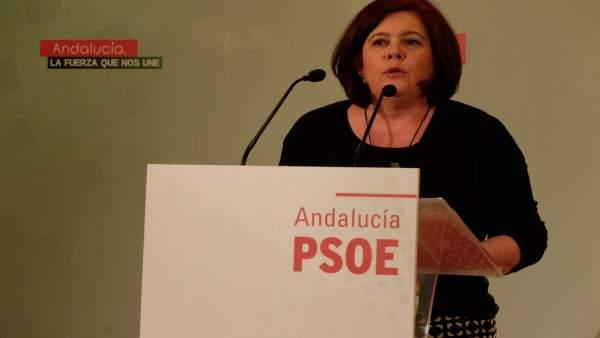 Diputada socialista Elvira Ramón