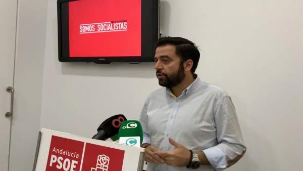 Fran González, secretario del PSOE de Cádiz