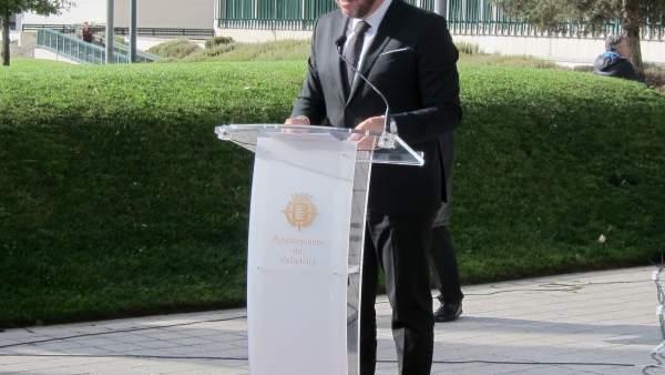 Óscar Puente, alcalde de Valladolid y portavoz del PSOE