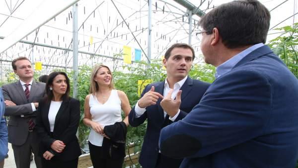Albert Rivera visita Biosabor
