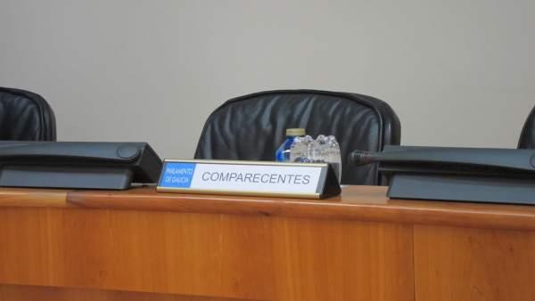 Asiento vacío en la comisión de presupuestos