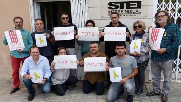 STEI 'presos políticos'