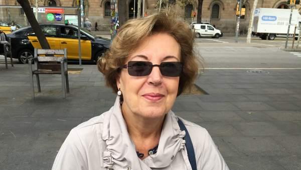 Maria Gil. 64 años. Barcelona.