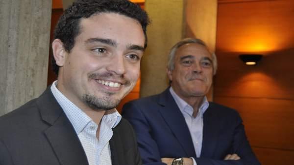 Darío Villagrasa, nuevo secretario de Organización del PSOE Aragón