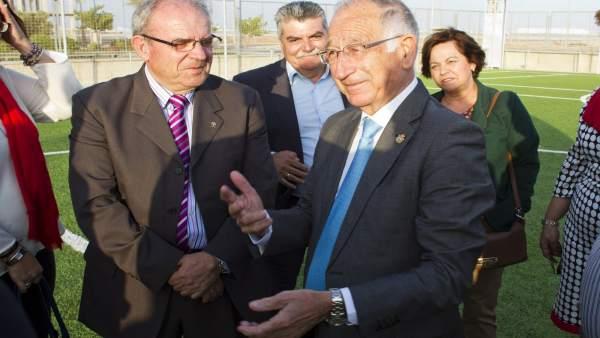 Diputación y Ayuntamiento de Vícar crearán un campo de fútbol en La Envía.