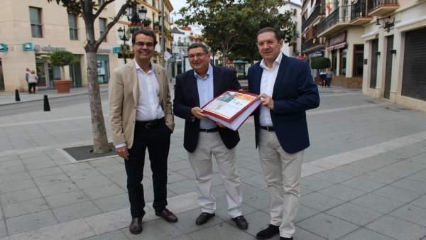 Np: Vélez Málaga Ya Tiene En Sus Manos El Proyecto Técnico De Peatonalización De