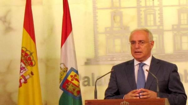 José Ignacio Ceniceros, en su comparecencia de hoy