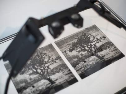 Fotografía estereoscópica realizada por William Kentridge
