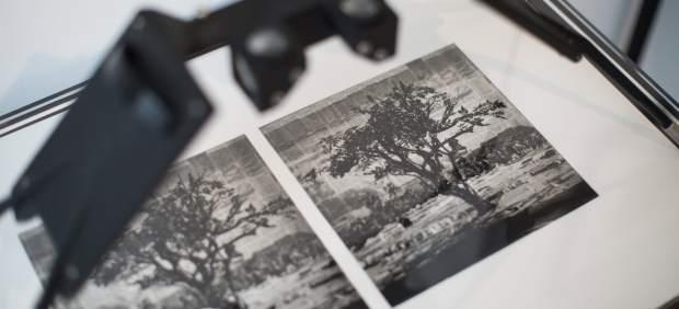 Fotografía estereoscópica realizada por William Kentridge