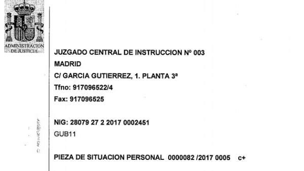 Auto de la jueza Lamela sobre Puigdemont