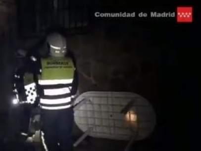 Cae un rayo en un chalet en Villaviciosa de Odón