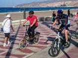 Carril bici en Almería