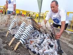 El Senado apoya que el espeto de sardinas sea protegido por la UNESCO