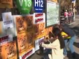 ANC y Òmnium Cultural convocan una pegada de carteles masiva