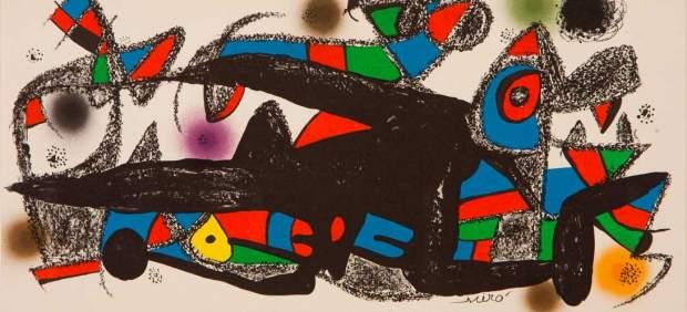 Miró Sculpteur Denmark, 1974