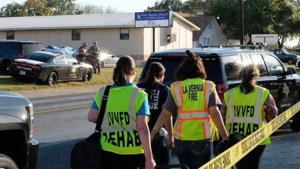 Matanza en una iglesia de Texas