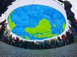 Manifestación para proteger la Tierra