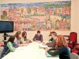 La Comissió de suport a l'escola catalana ens entreg