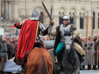 Combate a caballo
