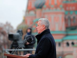 Discurso del alcalde de Moscú