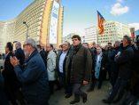 Alcaldes catalanes en Bruselas
