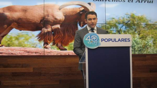 El diputado del PP Teodoro García