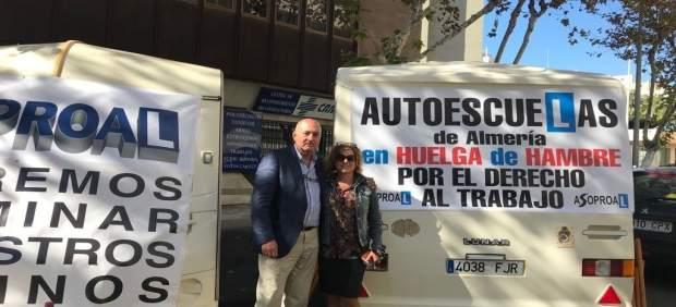 El presidente y la vicepresidenta de Asoproal, en huelga de hambre