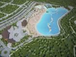 Proyecto de playa artificial en Guadalajara